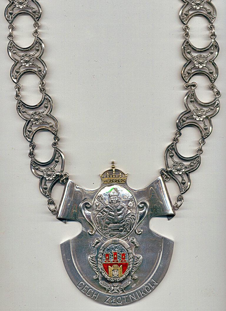 Łańcuch cechowy, prywatna właśność podstarszego śp. Mariana Cichonia