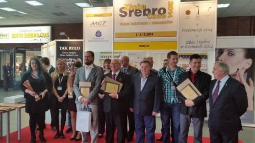 Targi branżowe Złoto Srebro Czas - Warszawa 2014